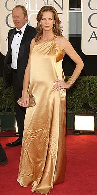 Rachel Griffiths, Golden Globes Mal Vestidos