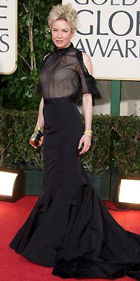 Renée Zellweger, Golden Globes mal vestidos