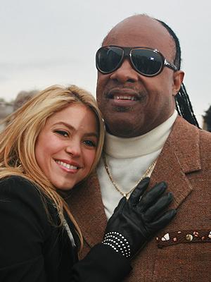 Shakira, Stevie Wonder
