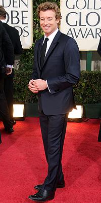 Simon Baker, Golden Globes Bien Vestidos