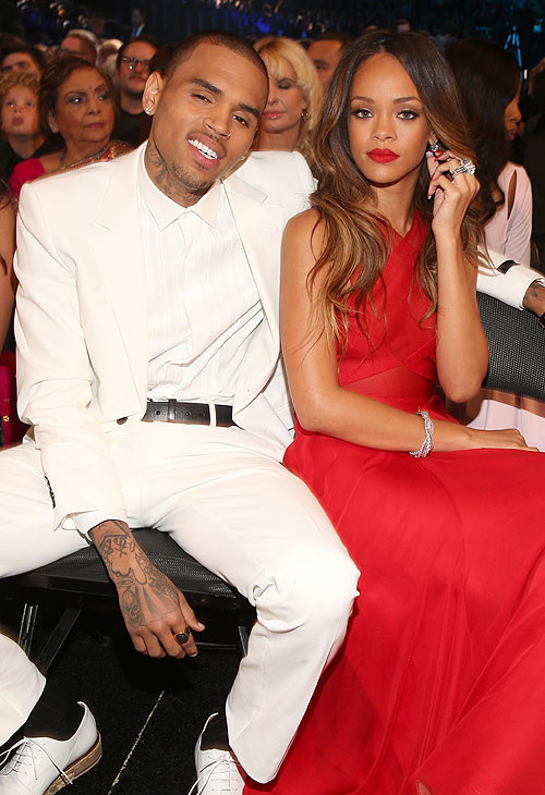 Rihanna, Chris Brown, Golpeadas