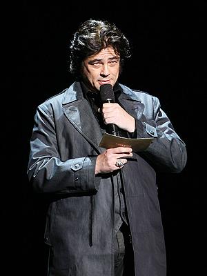 Benicio del Toro, Semana de la moda