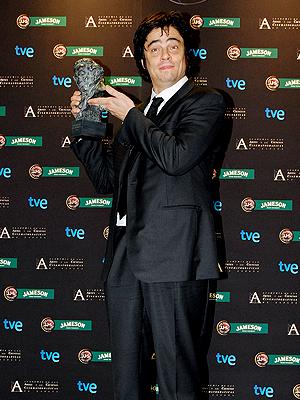 Benicio del Toro, Premios Goya 2009