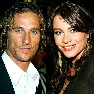 Sofía Vergara y Matthew McConaughey