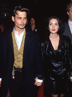 Johnny Depp, Winona Ryder, Now and Then, Parejas