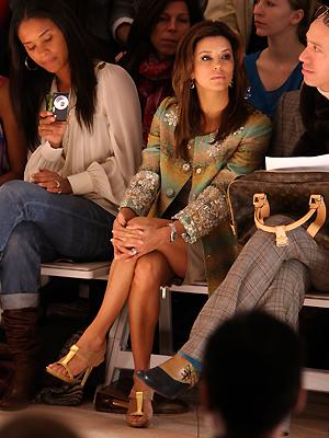 Eva Longoria Parker, Semana de la moda