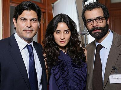 FRancisco Gatorno, Luis Enrique Guzmán, Paola Núñez