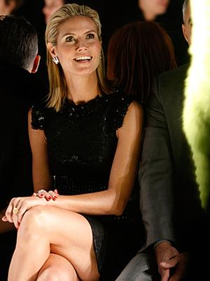 Heidi Klum, Semana de la moda
