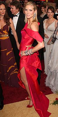 Heidi Klum, Oscar 2009
