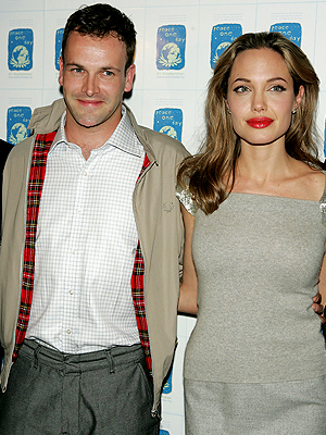 Angelina Jolie, Johnny Lee Miller, Now and Then, Parejas