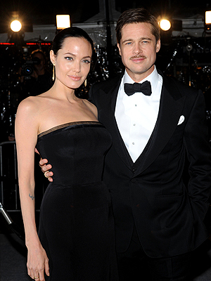 Angelina Jolie, Brad Pitt, Now and Then, Parejas