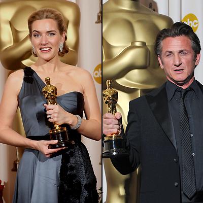 Kate Winslet, Sean Penn, Oscar 2009