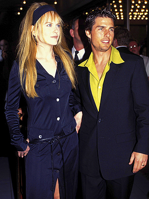 Nicole Kidman, tom ruise, Now and Then, Parejas