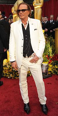 Mickey Rourke, Oscar 2009