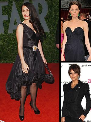 Negro principal, Salma Hayek, Angelina Jolie, Eva Longoria