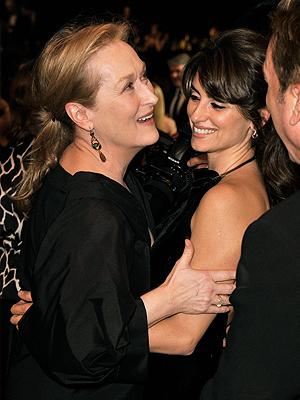 Penélope Cruz, Meryl Streep, SAG Awards