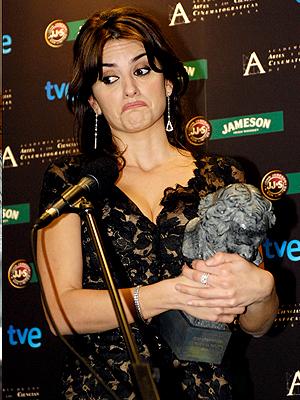 Penélope Cruz, Premios Goya 09