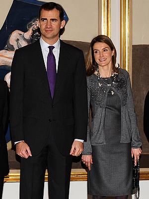 Príncipes de Asturias, Letizia, Felipe