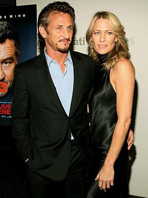 Sean Penn, Robin Wright-Penn, Now and Then, Parejas