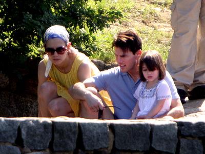 Tom Cruise, Katie Holmes, Suri, Brasil