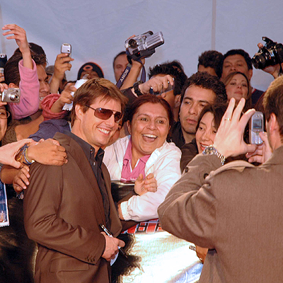 Tom Cruise, México