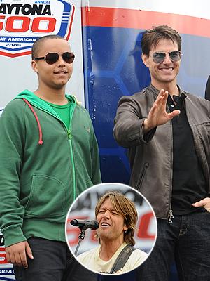 Tom Cruise, Connor, Keith Urban