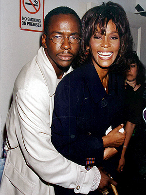 Whitney Houston, Bobby Brown,