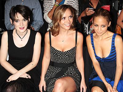 Winona Ryder, Christina Ricci, Nicole Richie