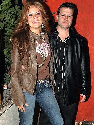 Gloria Trevi y Armando Gómez