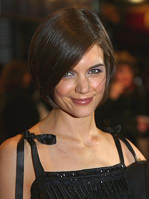 Katie Holmes, cabello