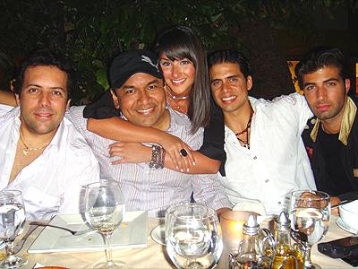 Alberto Gómez, Oswaldo Pisfil, Pedro Moreno, Jencarlos Canela