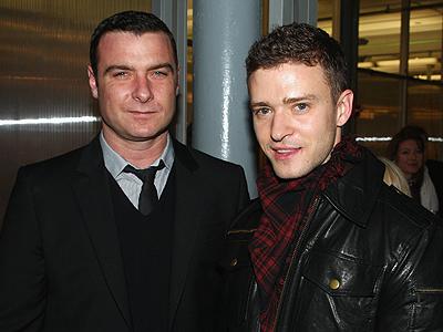 Justin Timberlake, Liev Schreiber