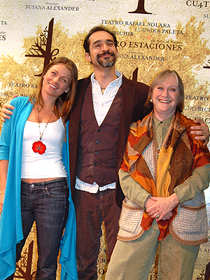 Ludwika Paleta, Bruno Bichir, Susana Alexander