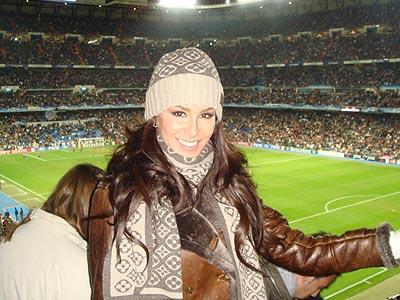 Ninel Conde en Madrid.