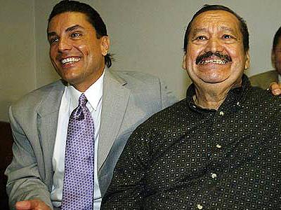Osvaldo Ríos y Kenny Sánchez (q.e.p.d.)