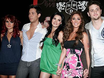 RBD, Maite, Christian, Chrisptopher, Dulce, Anahi