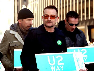 U2, Bono, The Edge