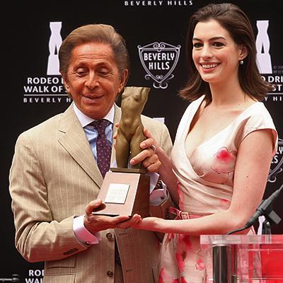 Valentino, Anne Hathaway
