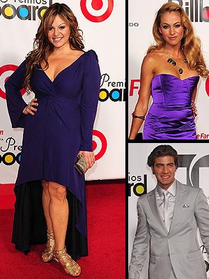Jenni Rivera, Paulina Rubio, Jeancarlos Canela, Peor vestidos Latin Billboard