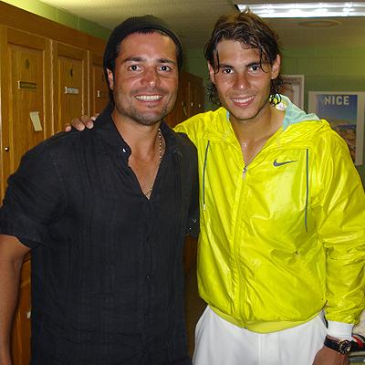 Chayanne, Rafael Nadal