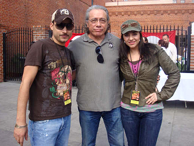 Germán Montero, Edward James Olmos, Graciela Beltrán