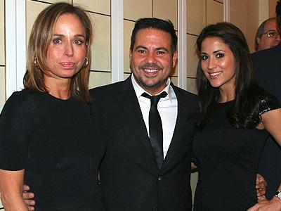 Astrid Redmond, Narciso Rodríguez, Jackie Guerrido