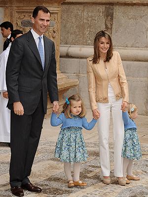 Letizia Ortiz, Príncipe Felipe