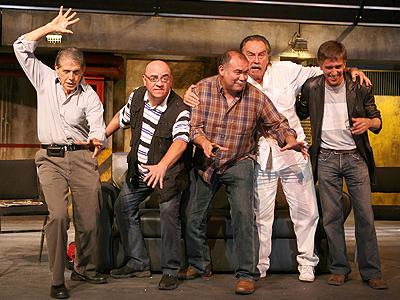 Héctor Bonilla, Víctor Trujillo, Jesús Ochoa, Pedro Armendáriz Jr., Rafael Sánchez Navarro