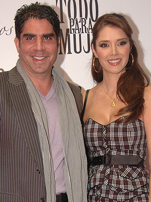 Jorge Kawaghi y Marlene Favela