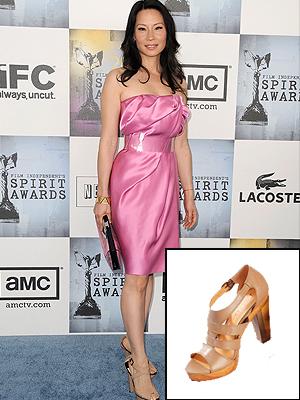 Lucy Liu, EL look por menos