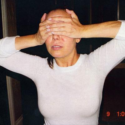 Myrka Dellanos tras el incidente de violencia doméstica
