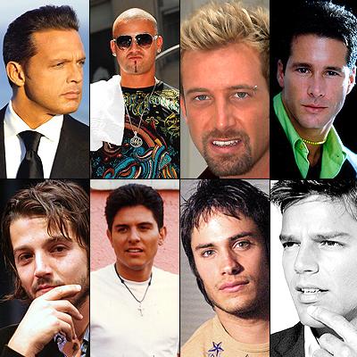 Papás guapos, Gael García Bernal, Diego Luna, Fernando Carrillo, Ernesto Laguardia, Luis Miguel, Ricky Martin, Gabriel Soto, Wisin