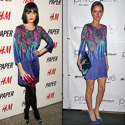 Katy Perry, Nicky Hilton, Duelo