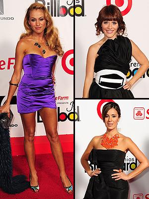 Paulina Rubio, Catherine Sichoque, Kany García